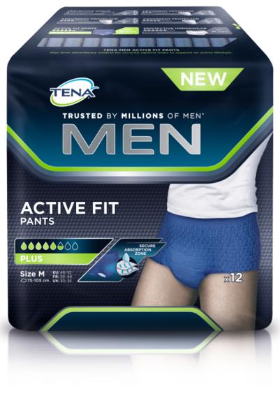 TENA MEN Pants PLUS M - 4 x 12 Stk.