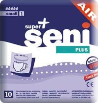 Super Seni Plus - Nachtwindeln - Größe S - 30 Stk.