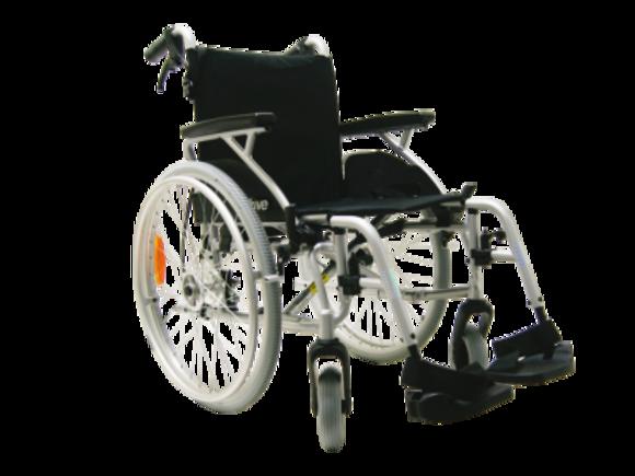Leichtgewicht-Rollstuhl Litec mit TB - 45 cm Sitzbreite
