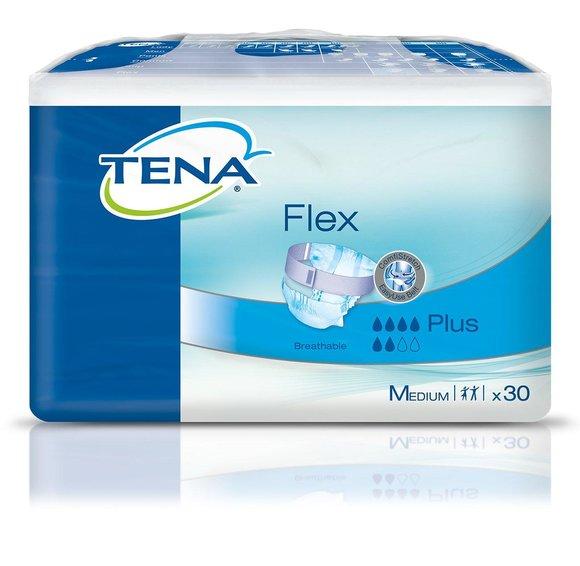 TENA Flex Plus M (Medium) Größe 2 / 1 x 30 Stück