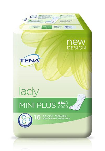 TENA Lady - Mini Plus / 10 x 16 Stück