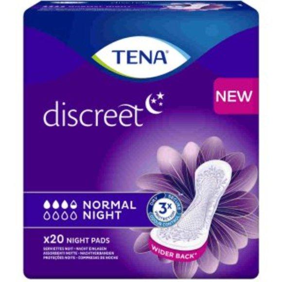 TENA Discreet Normal Night (1x20 Stk) - für die Nacht
