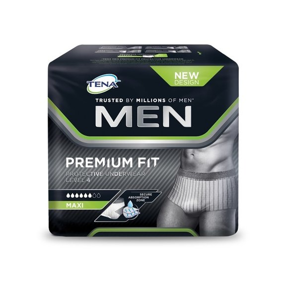 TENA MEN Protective Underwear PremiumFit Level 4 M/L - 10 Stk.